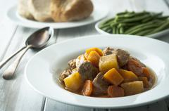 Pork casserole - stock photo