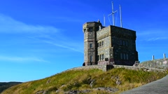 Cabot Tower Stock Footage