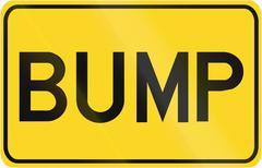Bump in Canada - stock illustration