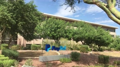 PayPal Office in Chandler Arizona Stock Footage