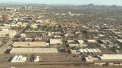 Phoenix Arizona Aerial Landscape - stock footage