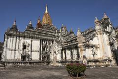 Stock Photo of Ananda Temple Pagoda Bagan Mandalay Division Myanmar Asia