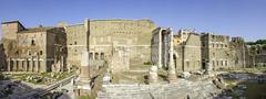 Stock Photo of Augustus Forum Rome Lazio Italy Europe