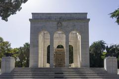 Mausoleum Mausoleo Ossario Garibaldino Rome Lazio Italy Europe Kuvituskuvat
