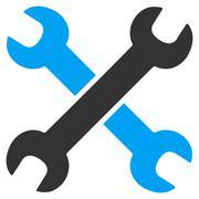 Wrenches Icon - stock illustration