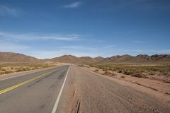 Puna landscape Ruta 51 road near San Antonio de Los Cobres Salta Province Stock Photos