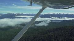 Aerial Footage of Lake Wanaka Stock Footage