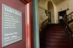 Auckland city council town hall - New Zealand Stock Photos