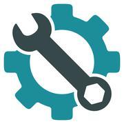 Service Tools Icon - stock illustration
