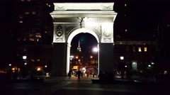 Washington Square Park NYC - stock footage