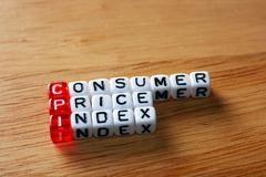 CPI Consumer Price Index - stock photo