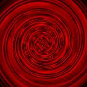 Dark red glossy swirl background - stock illustration