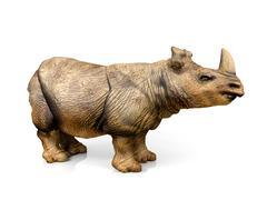 Rhinoceros - stock illustration