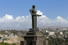 Mother Armenia Statue Stock Photos