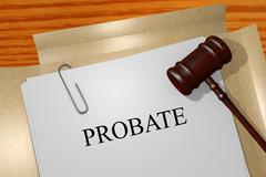 Probate concept Stock Illustration