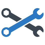 Wrenches Icon - stock illustration