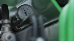 Pressure gauge, Stock Footage