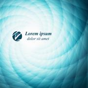 abstract  background with swirly  lines - stock illustration