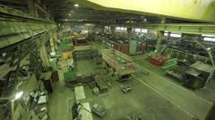 Machine shop - stock footage