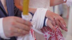 Wedding ceremony. Stock Footage
