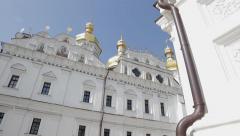 Huge monastery. Stock Footage
