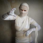 Female mummy Stock Photos