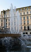 Stock Photo of Fountains at Cercul Militar (Military Club), Bucharest, Romania