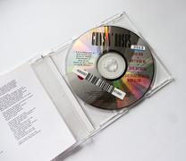 CD GUNS N ROSES  Civil War (1993). Stock Photos