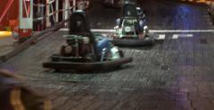Karting race Stock Footage