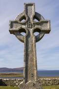 Celtic Cross Trumpan Kuvituskuvat