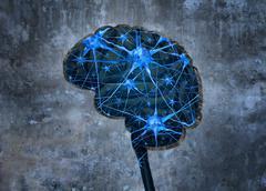 Inside Human Neurology - stock illustration