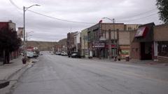 Helper Utah rural town center SUV drive 4K Stock Footage