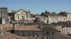 Saint Emilion village Stock Footage