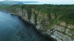 Aerial view of Cape Stock Footage