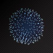 Fireworks festive  bursting sparkling vector - stock illustration