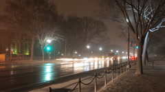 Winter in Washington DC Arkistovideo