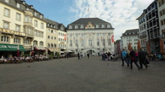 Old City hall - Altes Rathaus - Bonn, Germany Stock Footage