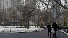Madison square park New York City Stock Footage