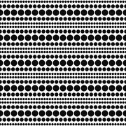 Stock Illustration of White and Black Polka Dot  Abstract Design Tile Pattern Repeat Background