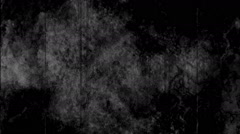 Black and white grunge texture loop Stock Footage