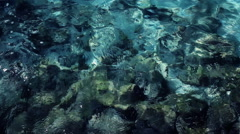 Clear Water Background footage Stock Footage