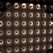 Wall of amps Stock Illustration