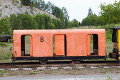 The old mining train Kuvituskuvat