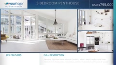 Real-Estate 1min Loop Slideshow  - After Effects Template - stock after effects