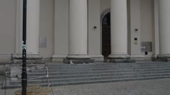 Cathedral of St. John Baptist and John Evangelist in Lublin Stock Footage