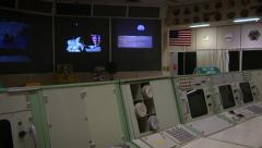 Apollo Era Mission Control Center - stock footage