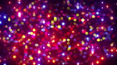 Disco party light flashes and bokeh background loop 4k (4096x2304) Stock Footage