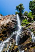 Grizzly Falls, Sequoia National Forest, California, USA - stock photo