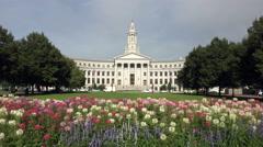 Denver City And County Building In Denver, Colorado Stock Footage