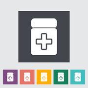 Stock Illustration of Drug icon